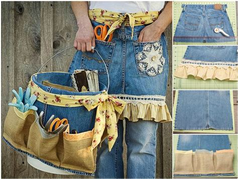 Tas Boxy Ribbon the diy garden apron and tool caddy from