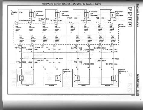 2005 pontiac grand am stereo wiring diagram