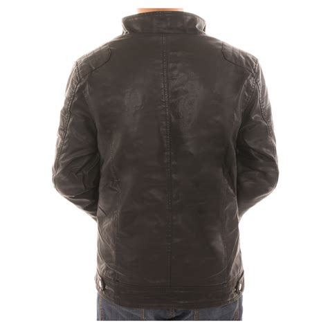 Jaket Parka Canpas Poket Zipper alta s motorcycle faux leather jacket fleece lined