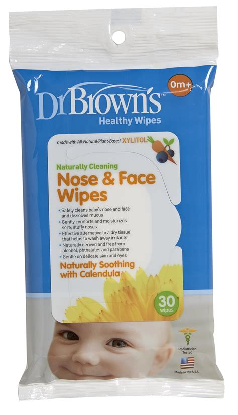 Dr Browns Nose Wipes 30 Wipestissue Bayibaby Wipes dr brown s tooth and gum wipes 30 count baby
