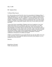 Recommendation Letter Exle Exle Of Letter Of Recommendation Bbq Grill Recipes