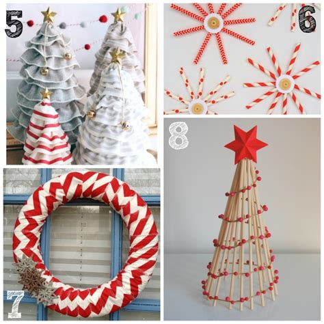 diy home christmas decorations 26 diy christmas decor and ornament ideas life love liz