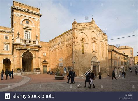 marche recanati recanati marche italia stock photo royalty free image