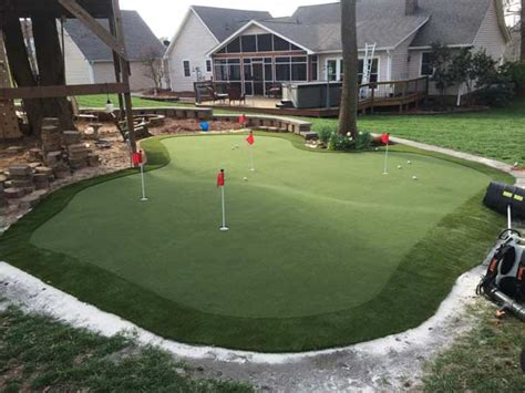 build   putting green outdoor tcworksorg