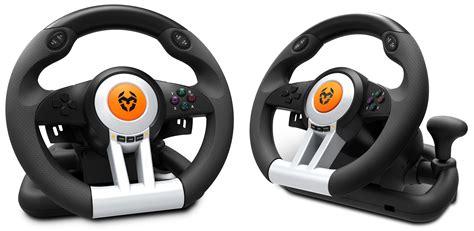 volante pc con frizione krom k wheel volante con pedales para pc y consolas