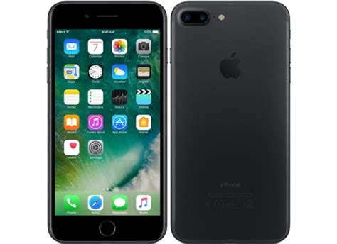 used as demo apple iphone 7 plus 32gb black