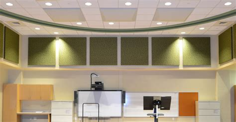 Ceiling Noise Reduction Apartment by Acoustical Sound Absorption Ceiling Tiles