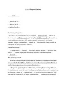 Loan Request Letter by Sle Letter Of Intent For Bank Loan Cover Letter Templates