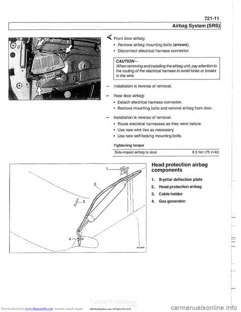 2000 bmw 528i airbag wiring diagram 2000 mercury