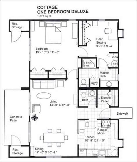 one bedroom cabin floor plans one floor cabin plans studio design gallery best