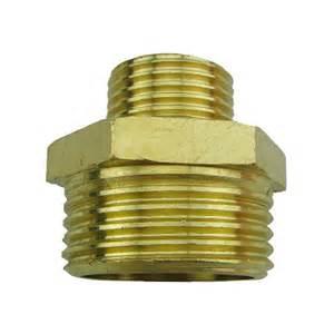 Garden Hose Connectors Brass 1 Inch To 1 2 Inch Connectors Hom Garden Hose