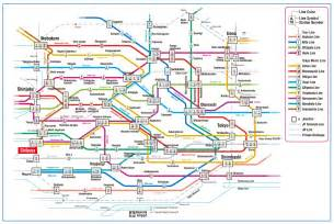 Japan Subway Map by Know About Japan Before You Travel Tokyo Metro Map