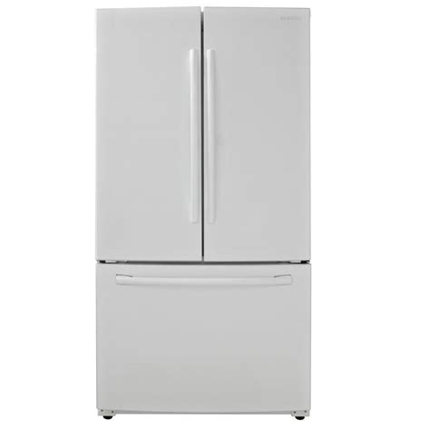samsung 25 5 cu ft door refrigerator in white
