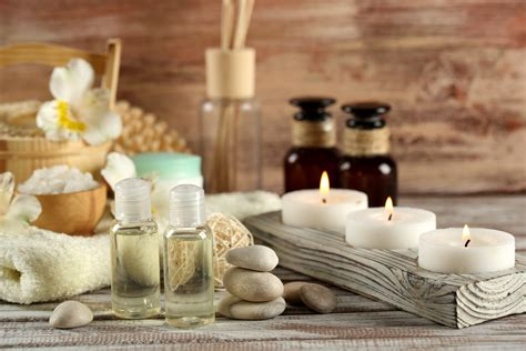 foto candele photos spa stones candles