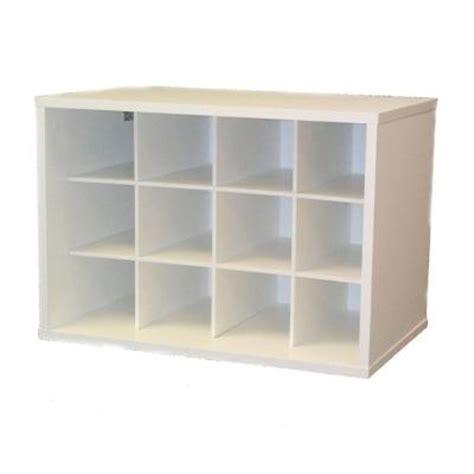 talon 23 in x 16 in white stackable 12 cube organizer