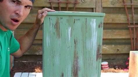 how to paint distress antique furniture project 1 painted green refinished and distressed