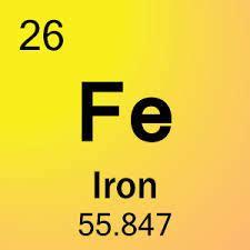 Fe Periodic Table by 26 Iron Fe Periodic Table By Mister Molato