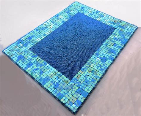 beaded table mats and coasters glass coasters wedding handmade beaded shell placemat