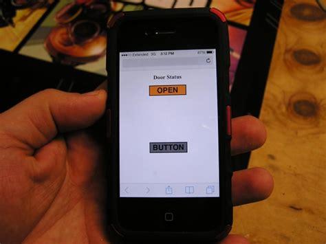 Genie Garage Door Opener Smartphone Smartphone Garage Door Opener