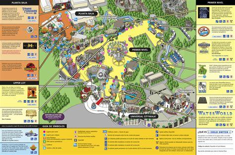 map of studios los angeles map universal studios