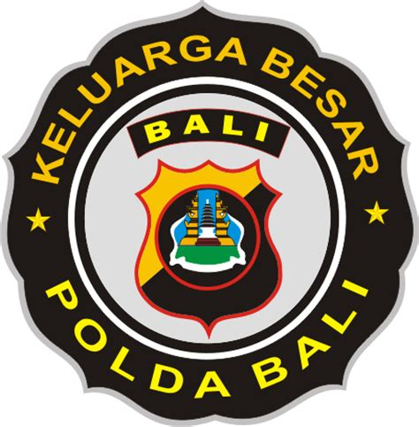 stiker polda bali kumpulan logo indonesia