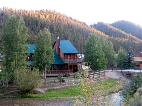 Cabins For Rent In River Nm by On The River Luxury River Cabin W Pool Vrbo