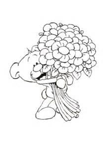 kolorowanka pimboli bukietem kwiat 243 kolorowanki dla dzieci druku