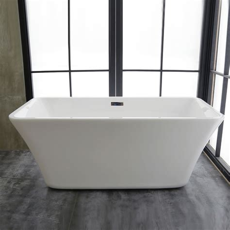 Freestanding Bathtub Canada by 67 In Freestanding Bathtub Acrylic White Dk Mec3047b