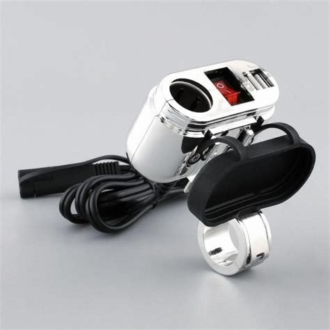 Motorcycle Usb Charger 12v waterproof motorcycle charger set usb cigarette lighter power socket
