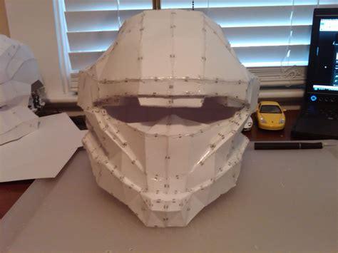 Halo Papercraft Helmet - helmet pepakura halo images