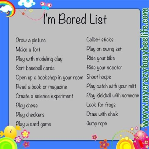 Im For Children by 50 Best Images About I M Bored Jar Ideas On