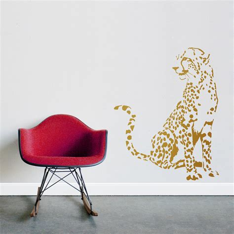 cheetah wall stickers cheetah wall decals cheetah wall decals 2016