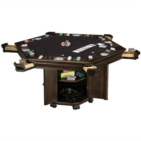 Media Room Chaise Lounges - howard miller niagara hexagon poker table 699013