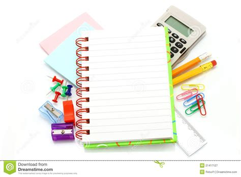 printable stationery items stationery items royalty free stock photography image