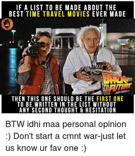 Time Travel Meme - 25 best memes about best time travel movies best time