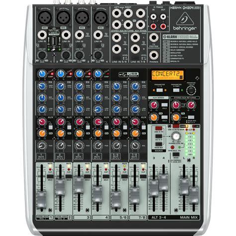 Mixer Fx Usb behringer qx1204usb mixer 12 input fx usb belfield