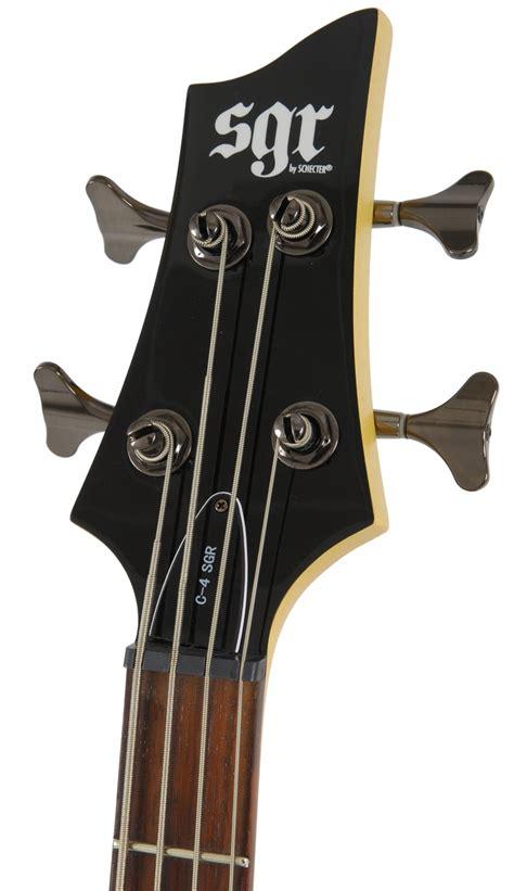 Sgr C 4 schecter sgr c 4 gitara basowa