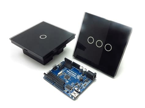 arduino smart light switch touch and remote intelligent switch