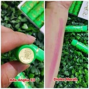 Lipstik Arab Ori jual lipstick arab hare hijau made in china sticker 33