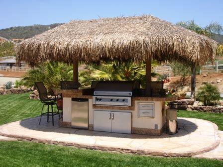 backyard tiki hut ideas outdoor kitchen ideas dig this design