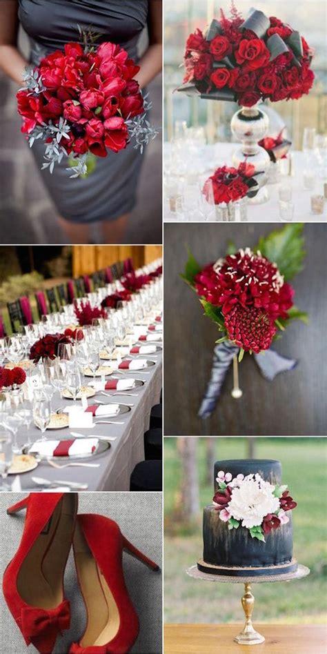 tendencias bodas 2016 2017 hispabodas decoraci 243 n para bodas en color gris combinaciones e ideas