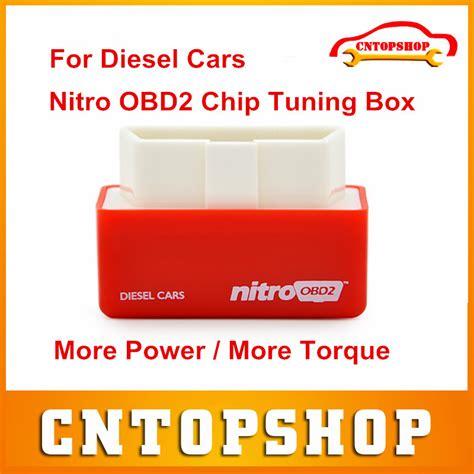 Promo Nitro Obdii Obd2 Chip Tuning Original top nitro obd2 chip tuning box for diesel cars nitroobd2 drive more power more