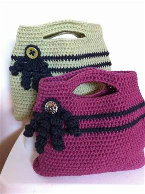 no pattern tote bag 30 easy crochet tote bag patterns diy to make