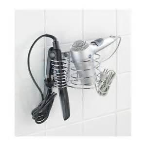 Bathroom Hair Dryer Organizer » Home Design