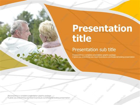 Retirement Powerpoint Template by Retirement Powerpoint Template Goodpello