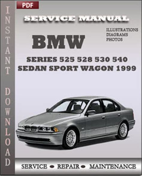 car service manuals pdf 1999 bmw 5 series auto manual bmw 5 series 525 528 530 540 sedan sport wagon 1999 service manual download repair service