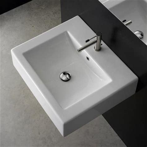 scarabeo bathroom sinks nameeks scarabeo 8025 b scarabeo square washbasin wall