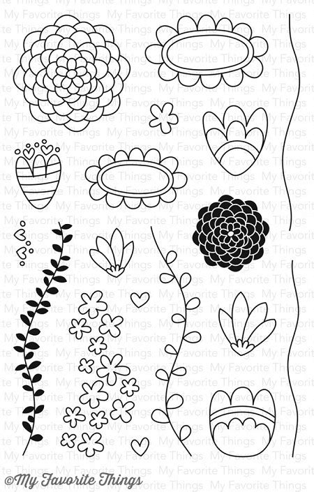 how to use favourite doodle my favorite things clear st doodle blossoms