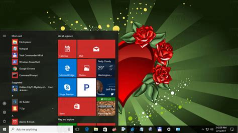 valentines day theme s day theme for windows 10 windows 8 and windows 7