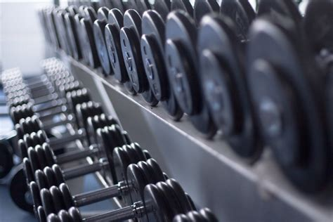 Dumbbell Fitness Dumbbells Different Weights Fitness Hd Wallpaper